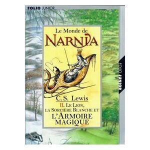 Les chroniques de Narnia Tome II : L'armoire magique - Clive Staples Lewis - Livre - Publicité