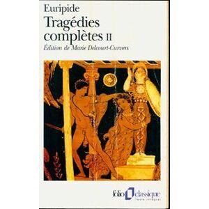Tragédies complètes Tome II - Euripide - Livre - Publicité