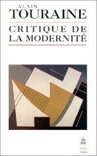 Critique de la modernité - Alain Touraine - Livre