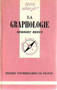 La graphologie - Herbert Hertz - Livre