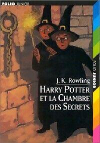 Harry Potter et la chambre des secrets - Joanne K. Rowling - Livre