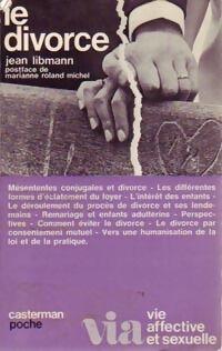 Le divorce - Jean Libmann - Livre