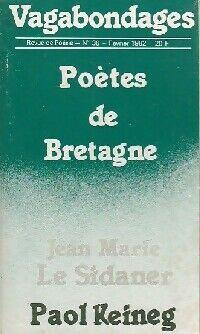 Poètes de Bretagne - Paol Le Sidaner - Livre