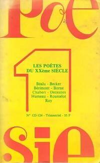 Les poètes du XXème siècle - Collectif - Livre