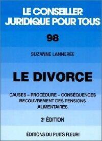 Le divorce - Suzanne Lannerée - Livre