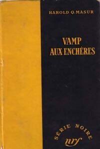 Vamp aux enchères - Harold Q. Masur - Livre