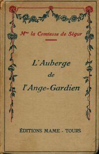 L'auberge de l'Ange Gardien - Comtesse De Ségur - Livre