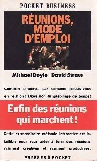 Réunions, mode d'emploi - Michael Doyle - Livre