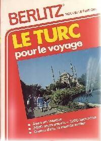 Le turc pour le voyage - Collectif - Livre