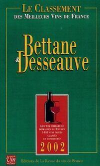 Le Classement 2002 des meilleurs vins de France - Thierry Bettane - Livre