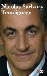Témoignage - Nicolas Sarkozy - Livre