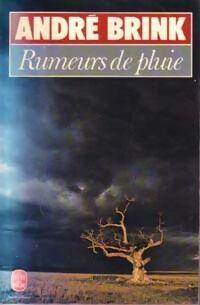 Rumeurs de pluie - André Brink - Livre