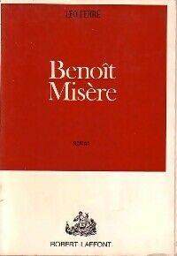 Benoît Misère - Léo Ferré - Livre