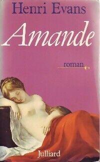 Amande - Henri Evans - Livre