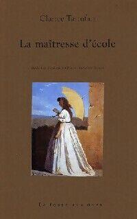 La maîtresse d'école - Clarice Tartufari - Livre