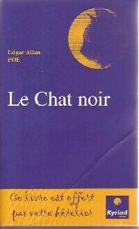 Le chat noir/The black cat - Edgar Allan Poe - Livre
