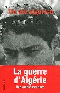 Un été algérien - Jean-Paul Nozière - Livre