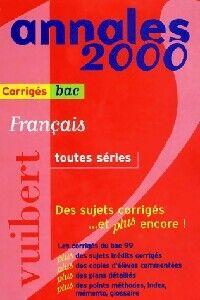 Annales 2000 Français - Collectif - Livre