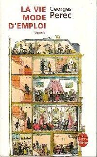 La vie mode d'emploi - Georges Perec - Livre