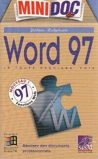 Word 97 - Didier Zelphati - Livre
