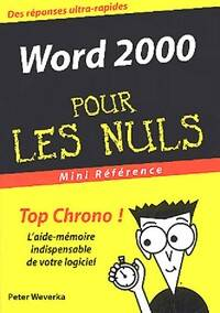 Word 2000 Poche - XXX - Livre