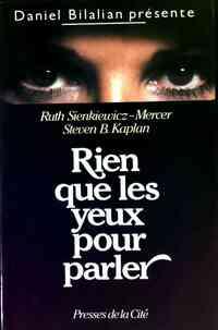 Rien que les yeux pour parler - Ruth Sienkiewicz - Livre