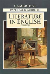 Cambridge paperback guide to literature in english - Ian Ousby - Livre