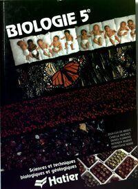 Biologie 5e - Jean-Claude Hervé - Livre
