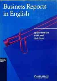 Business reports in english - Jeremy Comfort - Livre