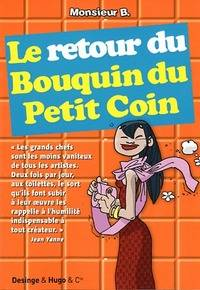 Le retour du bouquin du petit coin - Monsieur B. - Livre