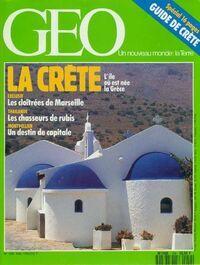 Géo n°159 : La Crète - Collectif - Livre