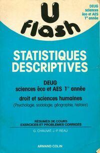Statistiques descriptives - Collectif - Livre