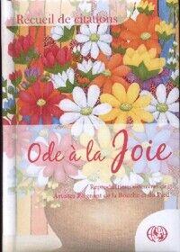 Ode à la joie - Collectif - Livre