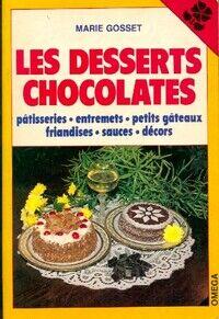 Les desserts chocolatés - Marie Gosset - Livre