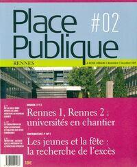 Place publique Rennes n°2 - Collectif - Livre