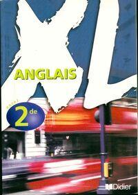 Anglais XL 2de - Hélène Adrian - Livre
