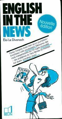 English in the news - Eloi Le Divenach - Livre