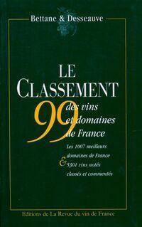 Le classement 1999 des vins et domaines de france - Thierry Desseauve - Livre