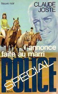 L'annonce faite au mari - Claude Joste - Livre