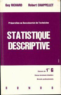 Statistique descriptive - Guy Richard - Livre
