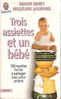 Trois assiettes et un bébé - Marie Binet - Livre