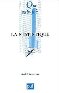 La statistique - André Vessereau - Livre