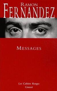 Messages - Ramon Fernandez - Livre