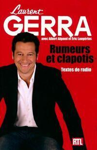 Rumeurs et clapotis - Laurent Gerra - Livre