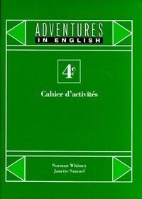 Anglais 4e. Cahier d'activités - Janette Whitney - Livre