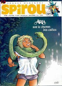 Spirou n°3967 : Aria sur le chemin des crêtes - Collectif - Livre