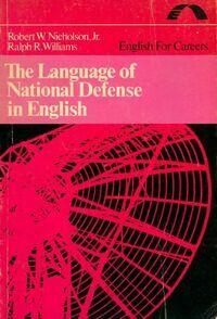 The language of national defense in English - Robert Nicholson - Livre