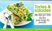 Tartes & salades. 46 recettes - Collectif - Livre