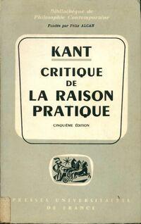 Critique de la raison pratique - Emmanuel Kant - Livre