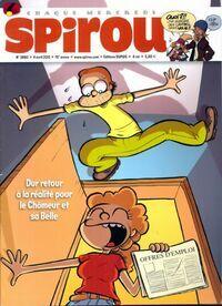 Spirou n°3860 : Dur retour à la réalité pour le Chômeur et sa Belle - Collectif - Livre